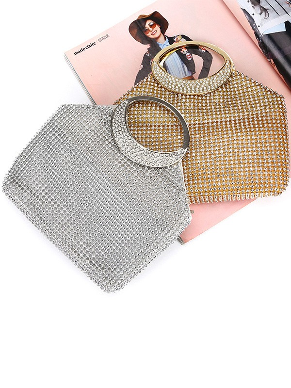 Luxurious Rhinestone Party Handbags