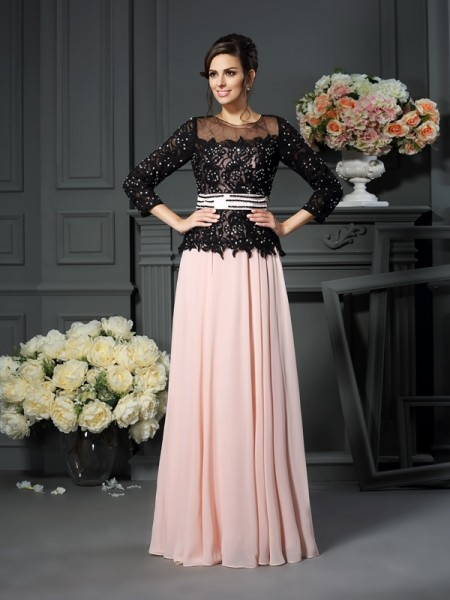 A-Line/Princess Sweetheart Mother of the Bride Dress with Long Chiffon