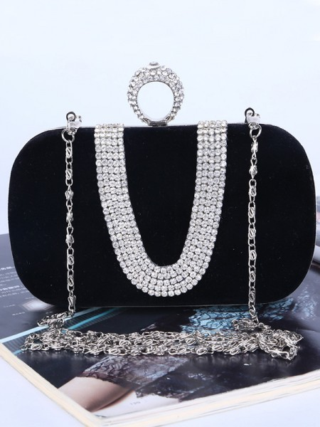 Trending Rhinestone Party Handbags