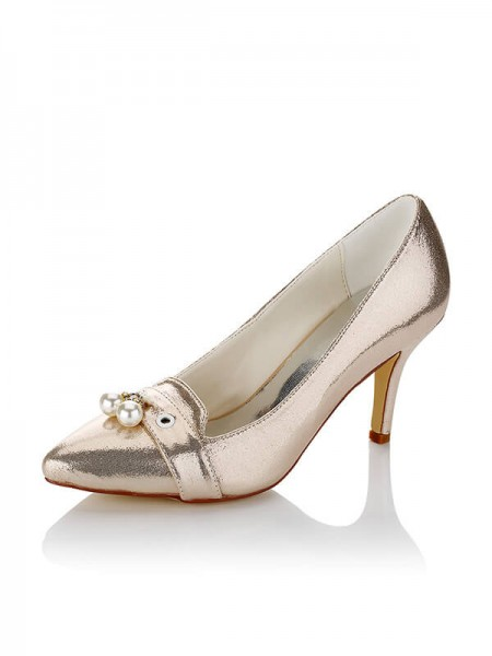 Chic Satin Wedding Shoes SW016212A1I