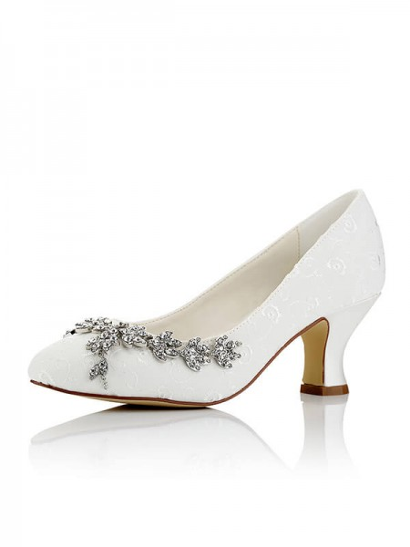 Cheap Satin Wedding Shoes SW01721A1I