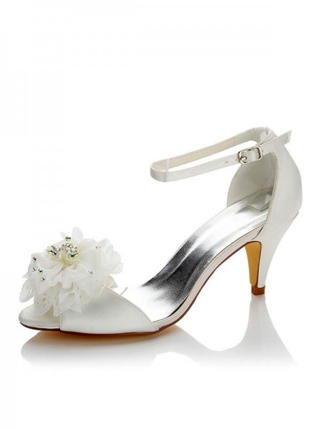 Stylish Satin Wedding Shoes SW05949428A1I