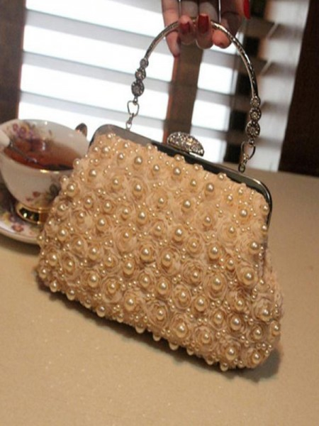 Attractive Pearl Party Handbags