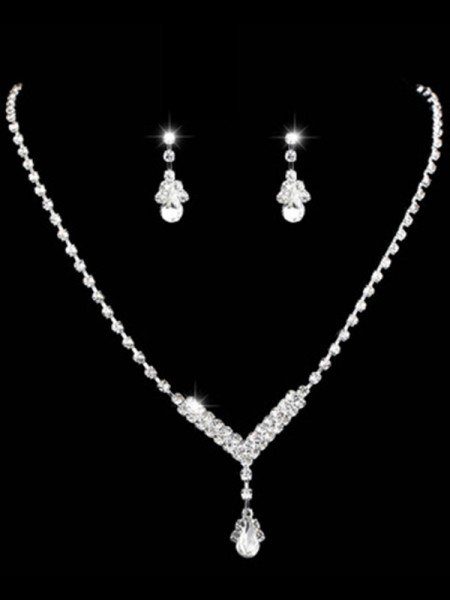 Gorgeous Rhinestone Ladies's Jewelry Set