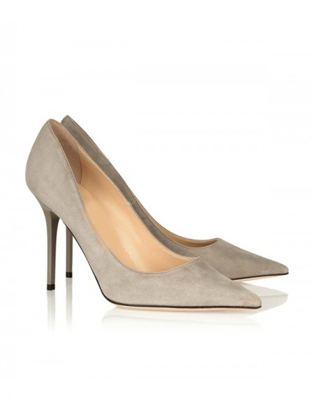 Suede Office High Heels SLSDN1415LF