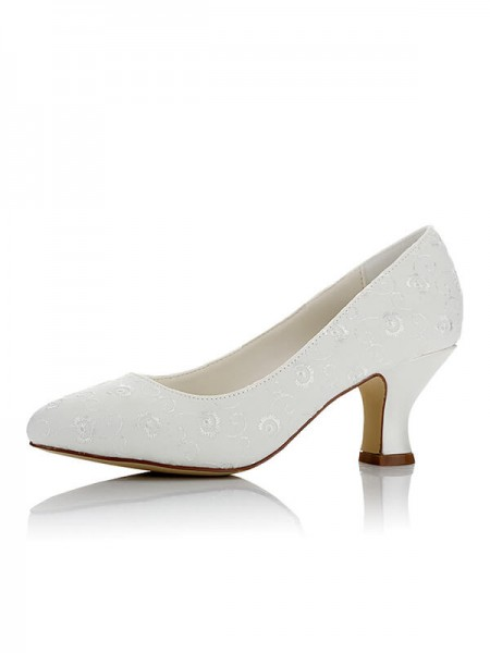 Stylish Satin Wedding Shoes SW01721V1I